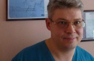 Urologist Vladimir Chvorov